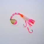 UV Pearl Orange & Pink Spinner
