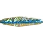 "2"" Blue Holographic Buzz Bomb"