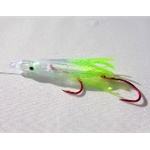 Kokanee Creek Green Ghost Hot Tail Squid