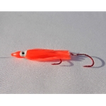 Kokanee Creek Hot Orange Glow Squid