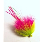 Pink & Chartreuse Rabbit Fly