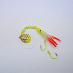 UV Pearl Chartreuse & Red